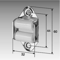 Gurt-Leitrolle, senkrecht, für 23 mm-Gurt