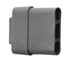 Endstab-Kunststoffgleiter 30 x 14 mm VE: 10 Stk.
