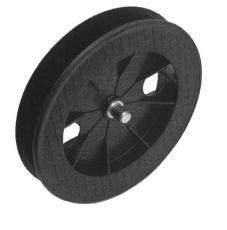 Steckgurtscheibe für Achtkant-Stahlwelle 60, Ø 190 mm