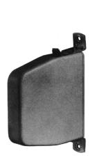 Schwenk-Gurtwickler 15 mm, braun, ohne Gurt
