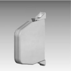 Schwenk-Gurtwickler 15 mm, weiß, ohne Gurt