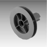 Steckgurtscheibe K für Achtkant-Stahlwelle 40 VE: 10 Stück